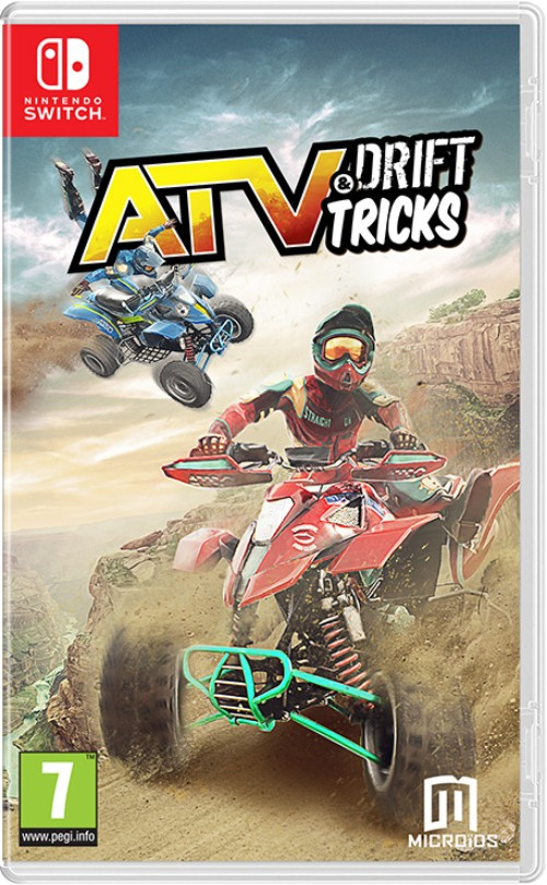 ATV Drift & Tricks switch box art