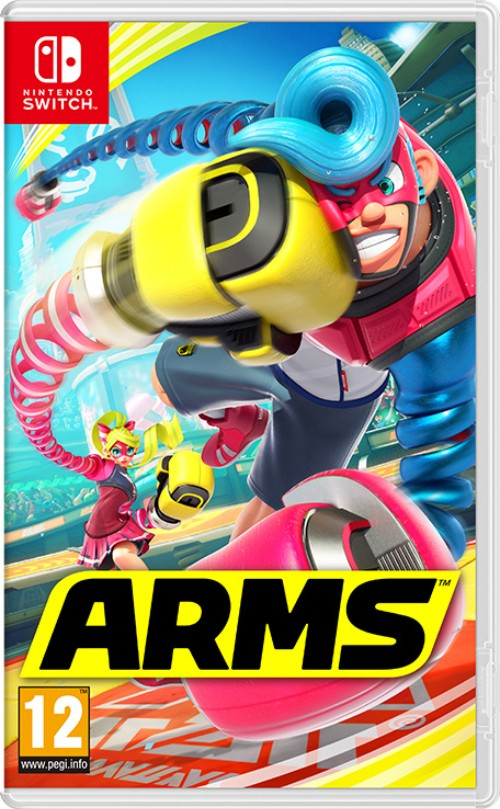 ARMS switch box art