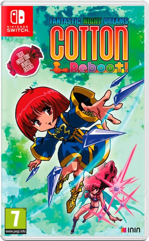 Cotton Reboot! switch box art