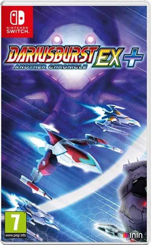 Dariusburst Another Chronicle EX+ switch box art