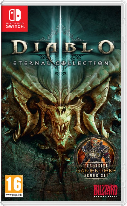 Diablo III: Eternal Collection switch box art