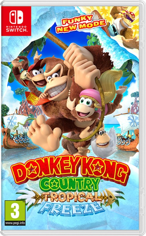 Donkey Kong Country: Tropical Freeze switch box art