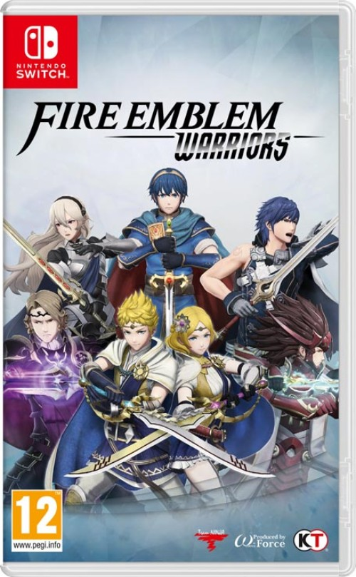 Fire Emblem Warriors switch box art