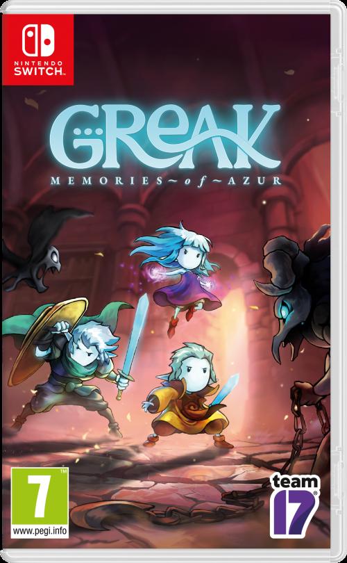 Greak: Memories of Azur switch box art