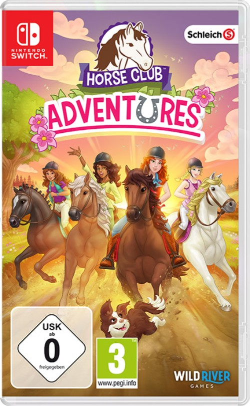 Horse Club Adventures switch box art