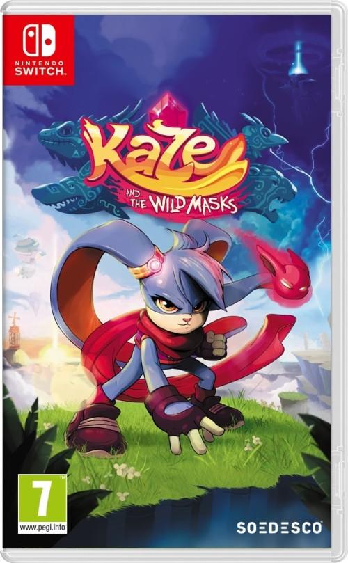 Kaze and the Wild Masks switch box art