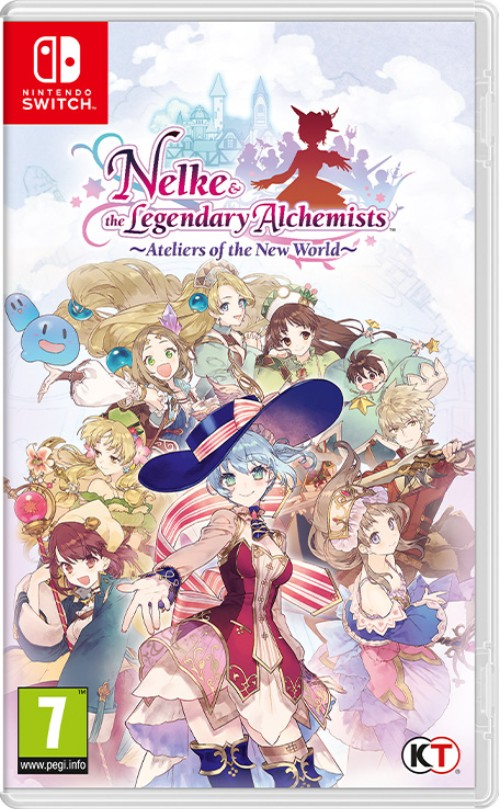 Nelke & the Legendary Alchemists ~Ateliers of the New World~