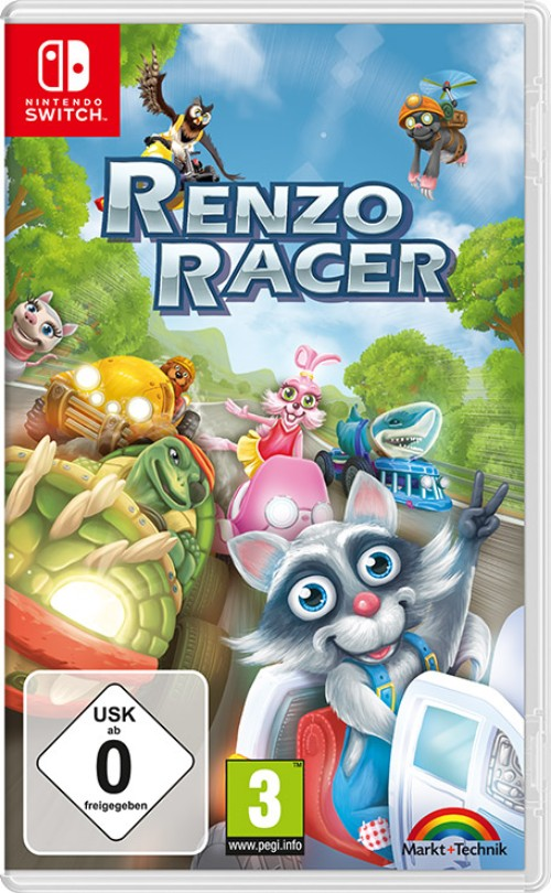 Renzo Racer switch box art