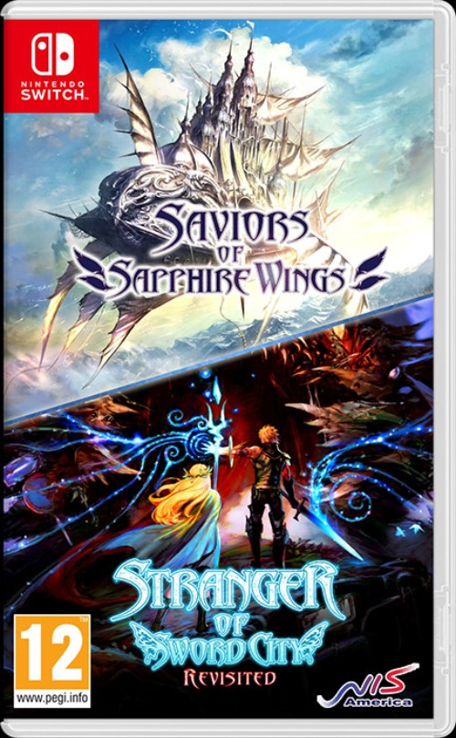 Saviors of Sapphire Wings  Stranger of Sword City Revisited switch box art