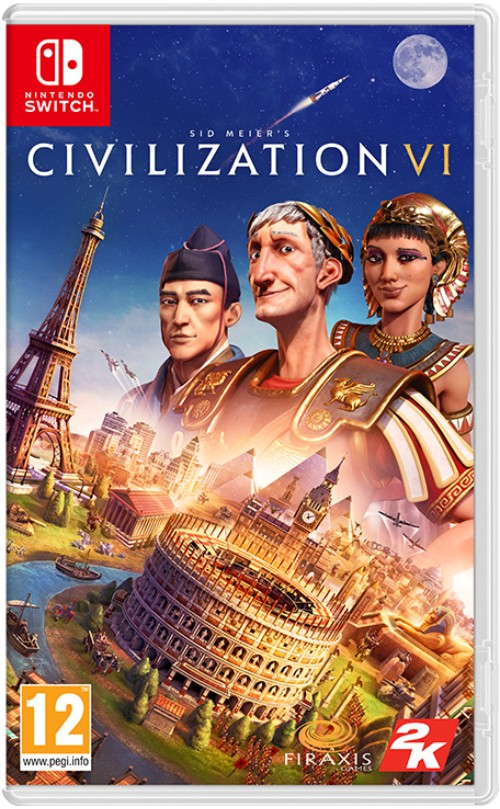 Sid Meier's Civilization VI switch box art