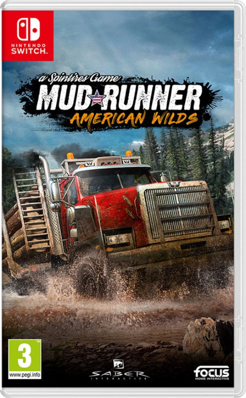 Spintires: MudRunner - American Wilds switch box art
