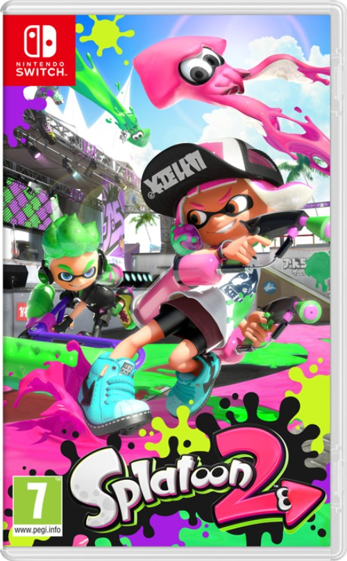 Splatoon 2 switch box art