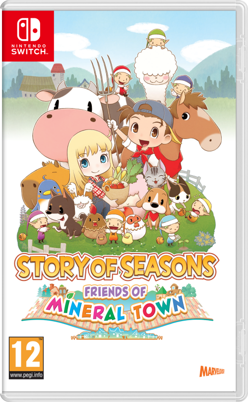 STORY OF SEASONS: Friends of Mineral Town switch box art