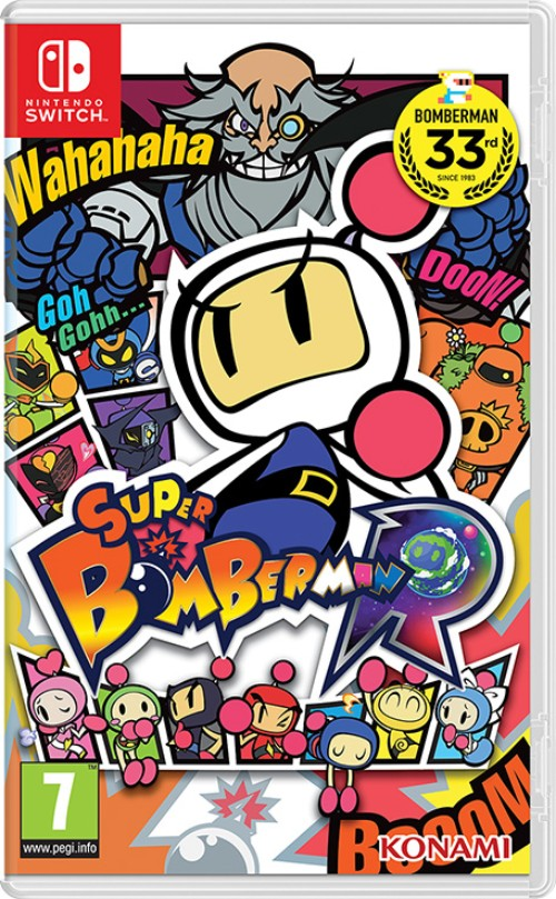 Super Bomberman R switch box art