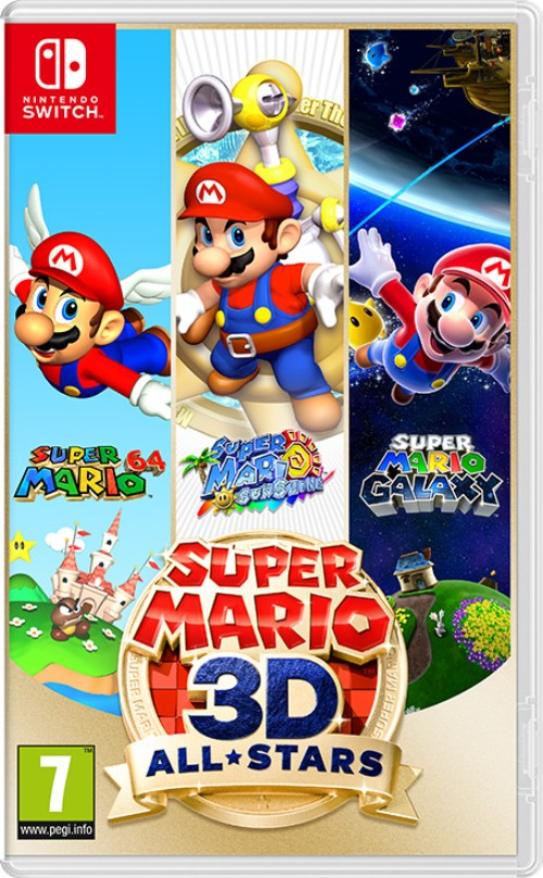 Super Mario 3D All-Stars switch box art