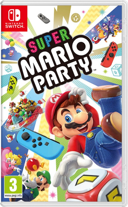 Super Mario Party switch box art
