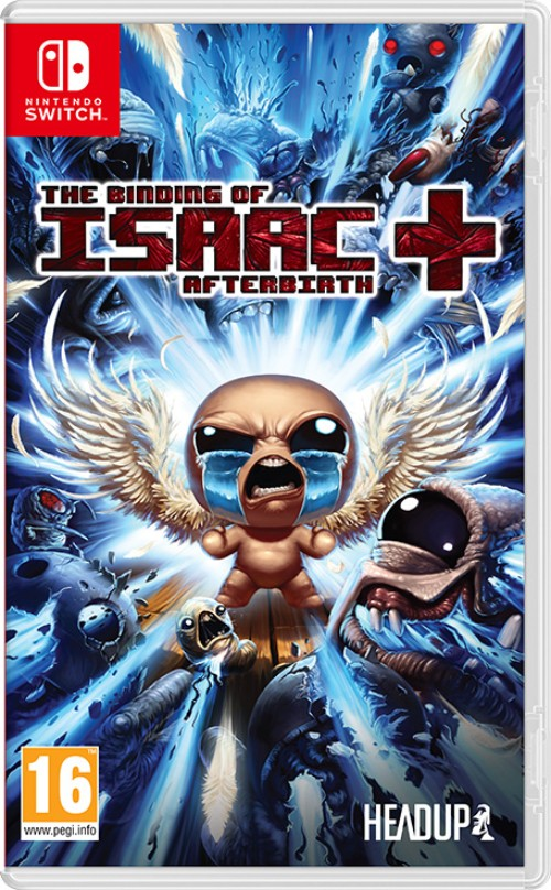 The Binding of Isaac: Afterbirth+ switch box art