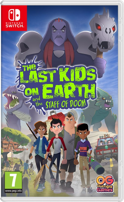 The Last Kids on Earth and the Staff ofDoom switch box art