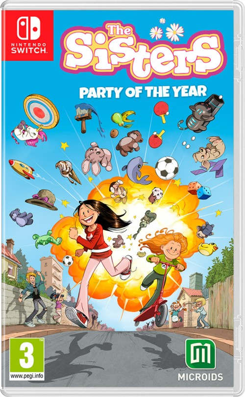 The Sisters - Party of the Year switch box art