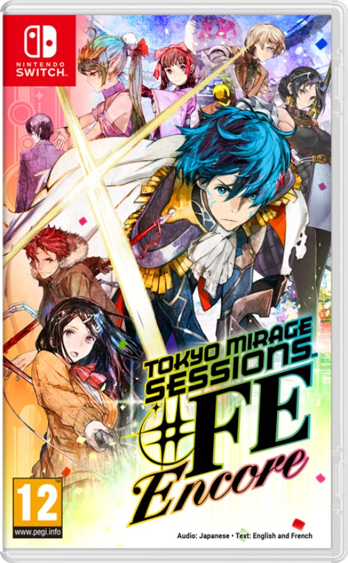 Tokyo Mirage Sessions ♯FE Encore switch box art