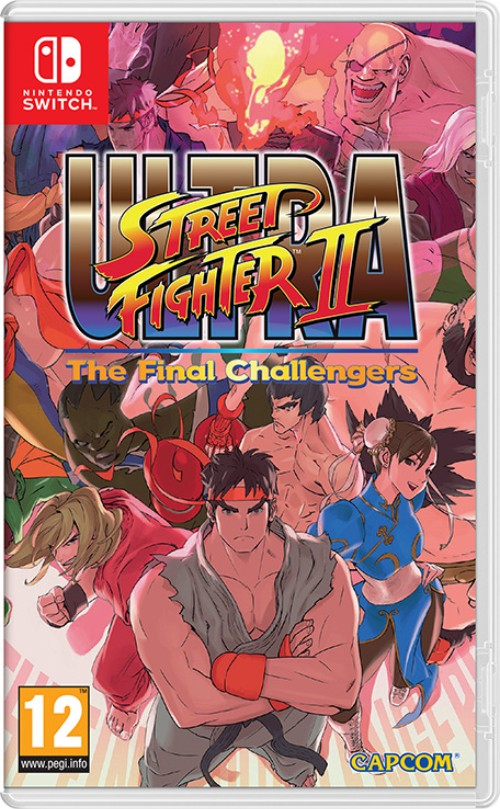 Ultra Street Fighter II: The Final Challengers switch box art