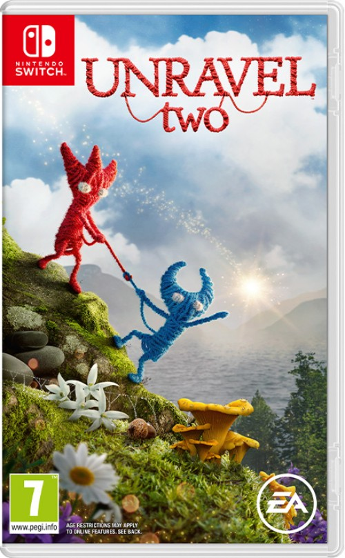 Unravel Two switch box art
