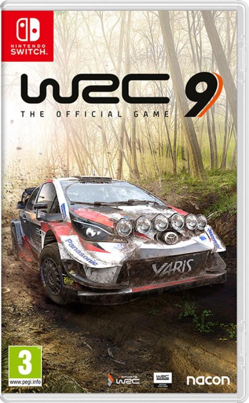 WRC 9 FIA World Rally Championship switch box art