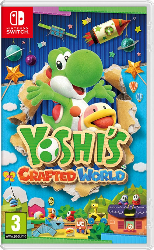 Yoshi's Crafted World switch box art