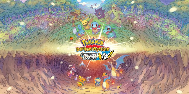 Image de Pokémon Donjon Mystère : Équipe de Secours DX
