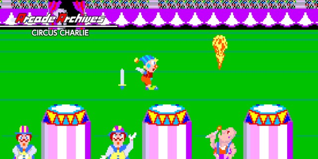 Image de Arcade Archives CIRCUS CHARLIE