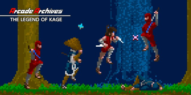 Image de Arcade Archives THE LEGEND OF KAGE