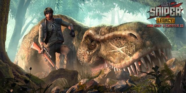 Image de Best Sniper Legacy: Dino Hunt & Shooter 3D