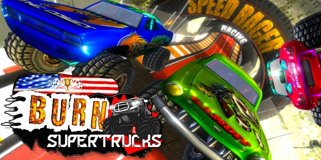 Image de Burn! SuperTrucks
