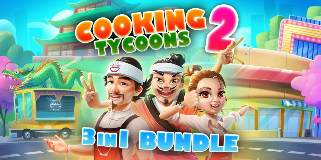 Image de Cooking Tycoons 2: 3 in 1 Bundle