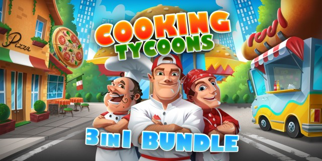 Image de Cooking Tycoons - 3 in 1 Bundle