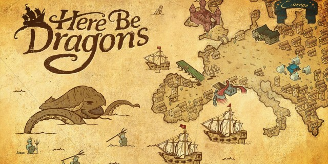 Image de Here Be Dragons