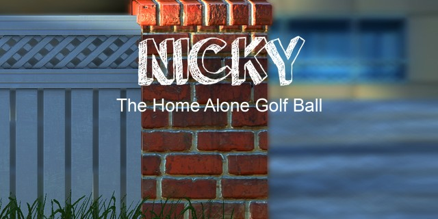 Image de Nicky - The Home Alone Golf Ball