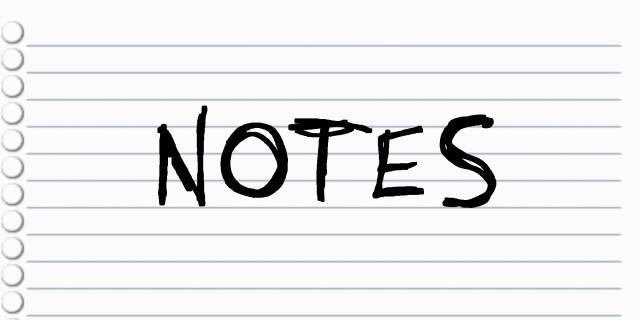 Image de Notes