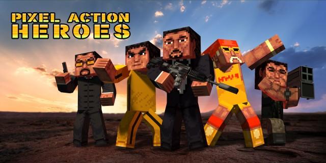 Image de Pixel Action Heroes