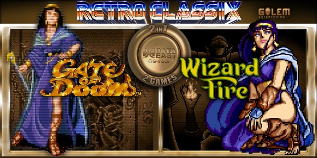 Image de Retro Classix 2-in-1 Pack: Gate of Doom & Wizard Fire