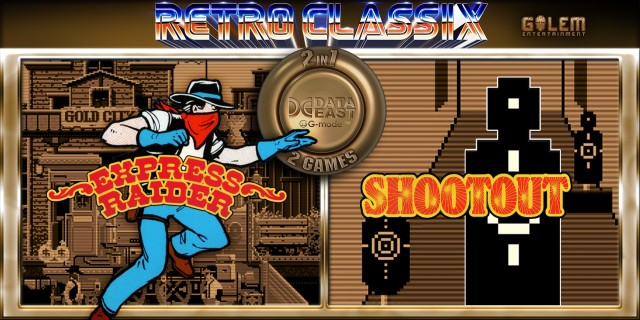 Image de Retro Classix 2-in-1 Pack: Express Raider & Shootout