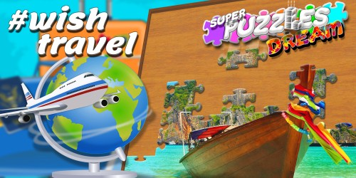 #Wish travel, Super Puzzles Dream switch box art