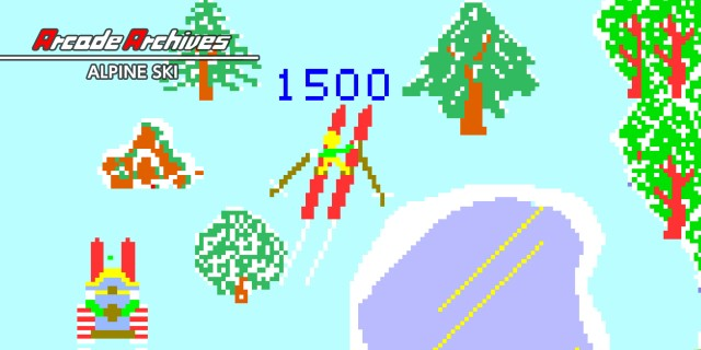Image de Arcade Archives ALPINE SKI