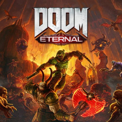 DOOM Eternal switch box art