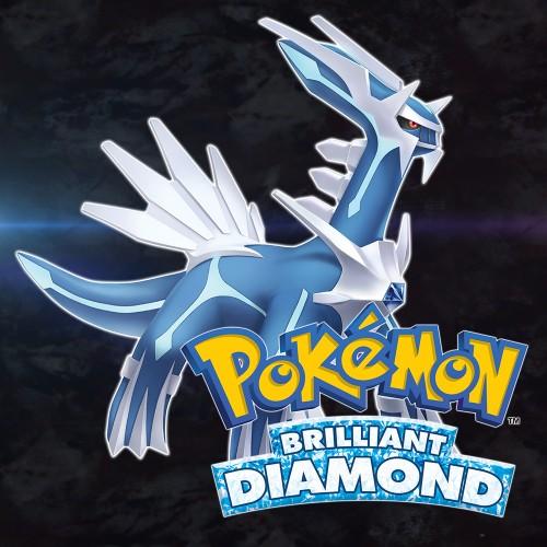 Pokémon Brilliant Diamond switch box art
