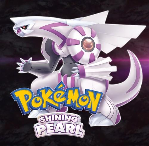 Pokémon Shining Pearl switch box art