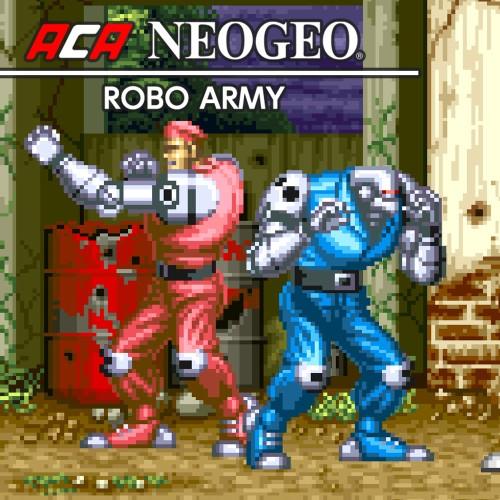 ACA NEOGEO ROBO ARMY