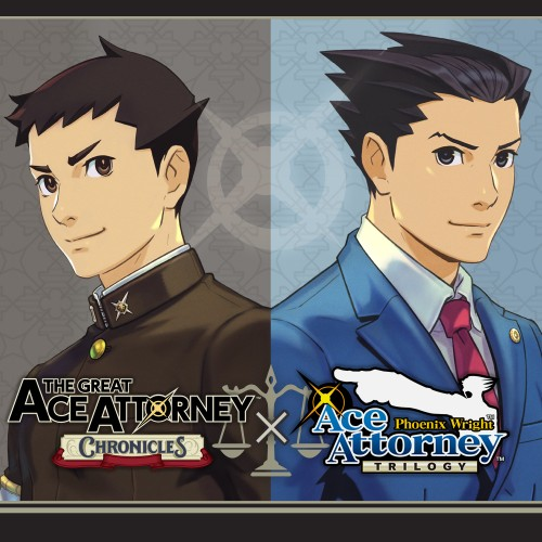 Ace Attorney Turnabout Collection switch box art