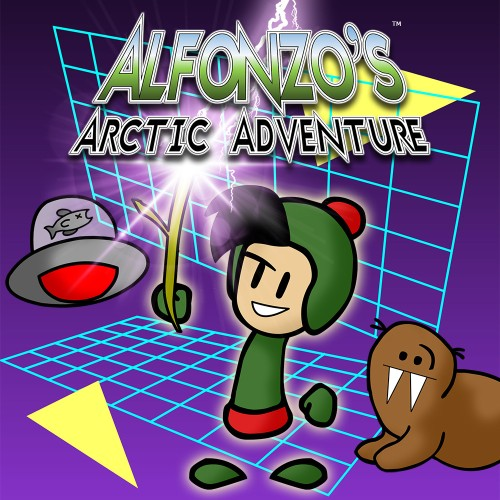 Alfonzo's Arctic Adventure switch box art