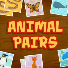 Animal Pairs - Matching & Concentration Game for Toddlers & Kids
